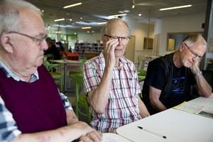 Bo Wallén, Rune Persson och Lennart Martiin har alla utsatts för bedrägeriförsök.