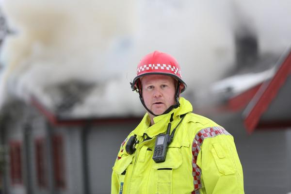 Pärra Jönsson, räddningsledare från Sveg.