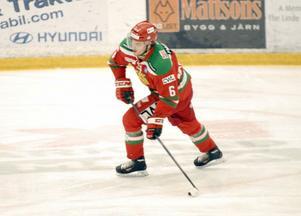 Mikael Wikstrand hade ögonen på sig från Ottawas talangscouter, som besökte FM Mattsson Arena.