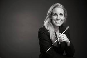 Cathrine Winnes blir ny chefdirigent och konstnärlig ledare för Blåsarsymfonikerna.