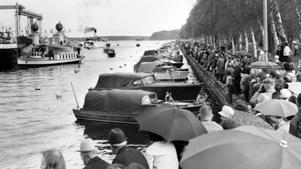 Ett evenemang i hamnen 27 maj 1972.
