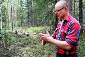 – Avrättningsplatser mitt på eller intill socken- eller länsgränser var vanligt, berättar arkeologen Ola Nilsson.