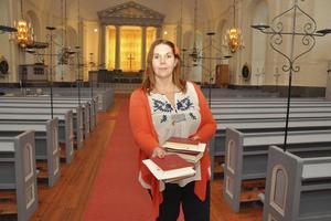 Säterbon Anna Dellerhagen är ny kyrkvärd i Sätersbygdens församling.