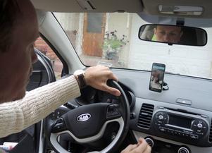 Jimmy Edvardsen i Mockfjärd har skapat appen Drowsy Driver, som ska hålla koll på att du har ögonen öppna.