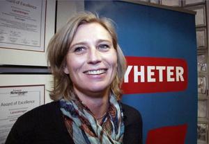 1 Viktoria Winberg blir chefredaktör på LT - en rejäl så kallad utmaning - men Vickan är såklart rätt tjej för jobbet - heja, heja!