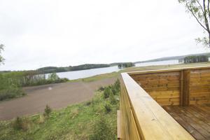 Fagerstas nya fågeltorn vid Backagården i Åvestbo invigdes i maj förra året.