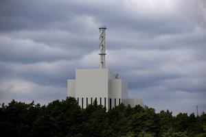 Kärnkraftverket O3:an på Simpevarpshalvön utanför Oskarshamn.