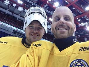 Stefan Strickert och Jonken Gustavsson har varit i Vitryssland och representerat det Svenska veteranlandslaget.