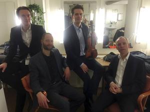 På onsdagskvällen ger Mads Tolling Quartet en konsert i Ljusdals missionskyrka och på tisdag i Hudiksvall.