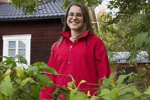 Från sin nya hemvist kan Anki Lundgren följa naturens skiftningar.