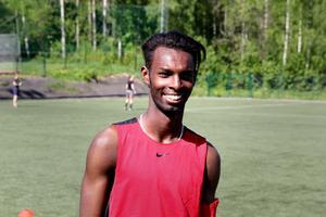 Deeq Mohamed tycker att fotbollsturneringen är ett skönt sätt att avsluta terminen på