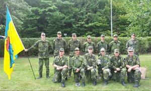 Här ses den stolta Fältjägargruppen.