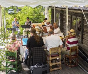 Gideå Blåsorkester. Foto: Claes Rosenqvist.