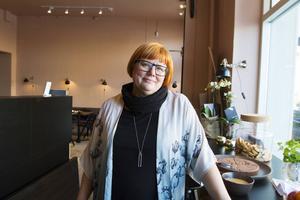 Anna Frisk är nöjd med starten för Stair Coffice