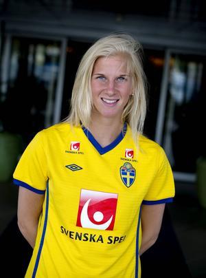 Sofia Jacobsson, 25 år, utsågs i år till franska ligans bästa spelare. Hon är uppvuxen i Örnsköldsvik och spelar i Montpellier.