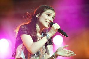 Laleh sålde platina med förra skivan, nu återkommer den populära och egensinniga sångerskan till Yran, bilden från besöket här sommaren 2012.