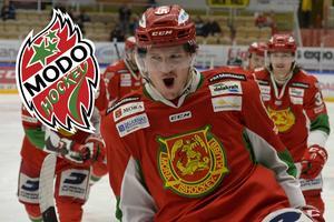 Patrik Karlkvist i Moratröjan. Nästa säsong spelar han i Modo.