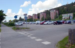 På Emharts parkering och bort till Folkets park planeras för flera nya bostadskvarter.