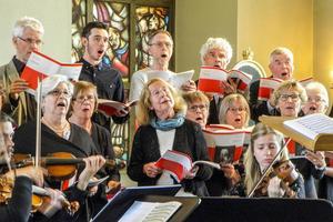 Vacker körsång i Svegs kyrkas vårkonsert.