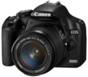 Förbättrad skärmsökare i Canon Eos 500D