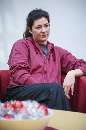 Anne Farrell gör sin sista vecka i Jämtland. I helgen matchar hon mot Järva och Akropol och på måndag reser hon hem till USA.