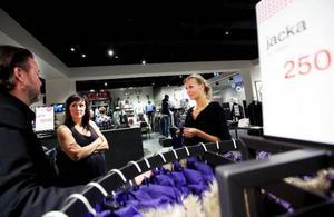 Elionore Gustafsson och Ingela Höglund startar Vero moda och Jack & jones  i Östersund. Läget är viktigare än konjunkturen är deras ståndpunkt för när man bör satsa på en ny ort.Foto: Håkan luthman