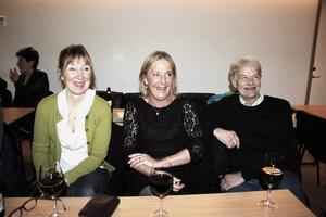 Ulla-Carin Ivarsson, Ann-Marie Broqvist och Börje Broqvist såg framemot att se Brooklyn Soul Stew.