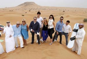 Digiloo-gänget i Dubai.