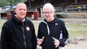 Bo Axelsson (th) hoppas att Björn Forsberg ska ingå i VIF:s arbetsgrupp.