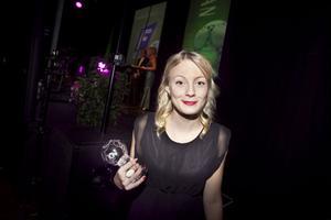 Linn Andersson, Mohed,  tog priset som damtreans bästa – fortsätter 18-åringen leverera mål med Edsbyn i tvåan?
