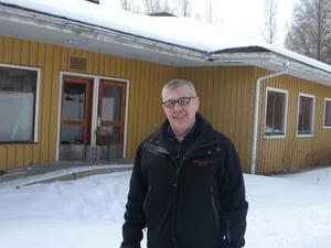 På lördag leder räddningschefen Rune Daniels arbetet när huset på Persborgs grund ska brännas ner.