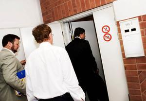 På måndag meddelar tingsrätten om norrmannen ska häktas eller inte.Foto: Lars-Eje Lyrström