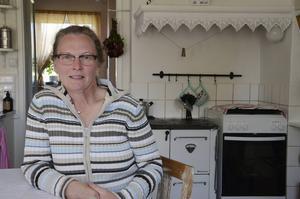 Ett av kraven Birgitta hade på familjens nya hus, var att det skulle finnas en vedspis i köket.
