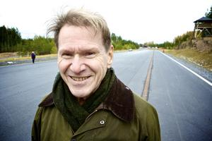 Gunnar Asplunds 200 meter långa elväg fungerar