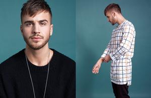 """Martin Masarov har släppt singeln  """"För mycket text (i refrängen)""""."""