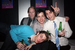 Silk. Henrik, RK, Tobias och Zlatan
