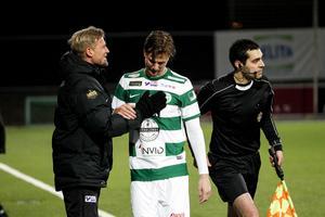 VKS-mittfältaren Jonas Hellgren har ådragit sig en inflammation i höftfästet och det är i nuläget oklart hur länge han blir borta från spel.