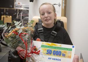 Korpenföreningen Heros får 50 000 kronor av Postkodlotteriets Idrottsstiftelse.
