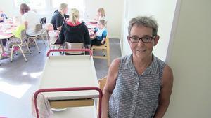 Förskolechefen  Monica Gunnarsson på Jordgubbens föräldrakooperativ har alla anledning att känna sig nöjd efter Skolinspektionens granskning.