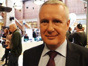 Thomas Rolén är regeringens genomförare av den nya polismyndigheten.