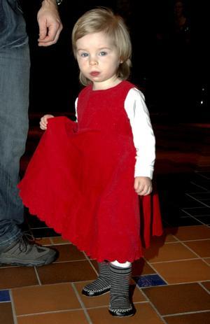 För Lovisa Trygg var årets julgransdans i Grythyttan den allra första.