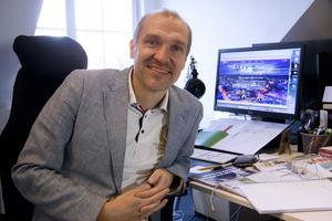 Samuel Strömgren är projektledare för Sveriges kompetensriksdag.
