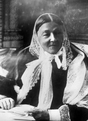 Banade väg. Florence Nightingale anses vara den moderna sjukvårdens pionjär. Kraven på hennes efterföljare, dagens sjuksköterskor, är stora, påpekar debattörerna. foto: scanpix