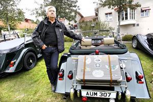 Jan Bergströms Morris är gjord 2009, samma år som bilfabriken firade 100 år.