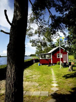 Attraktivt. Sjönära stugor höjer värdet på fritidshusen i Lindesbergs kommun.ARKIVBILD: SOFIE ISAKSSON