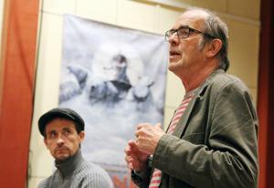 Dokumentärfilmaren och regissören Jan Lindqvist berättade för bland andra fotografen Joakim Brolin om sitt stora filmprojekt