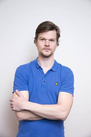 Markus Josefsson, nyhetschef för sporten i Dalarna.