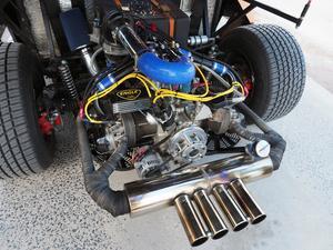 Motorn i Setheran är väldigt speciell och finns troligen endast i ett exemplar.