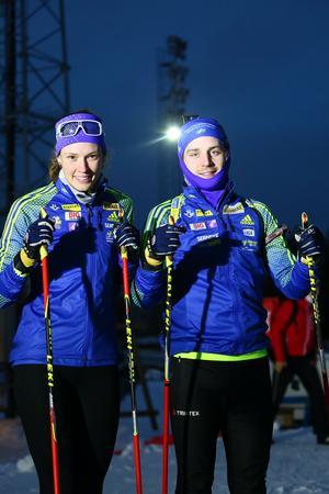 Hanna Öberg och Jesper Nelin
