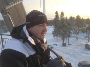 Riksdagsmannen Jasenko Omanovic (S) förevigade fenomenet med sin kamera.